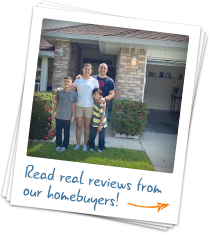 Read real reviews from our homebuyers